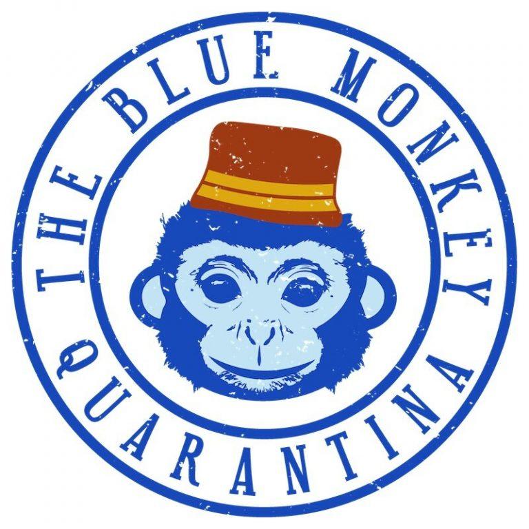 Blue Monkey Quarantina Logo
