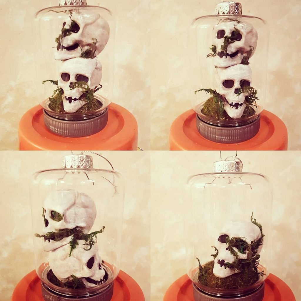 Horror Floral Ornaments