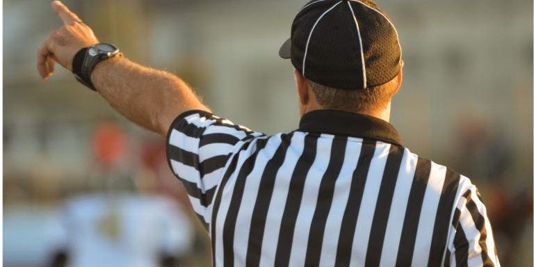 Rule maker Referee