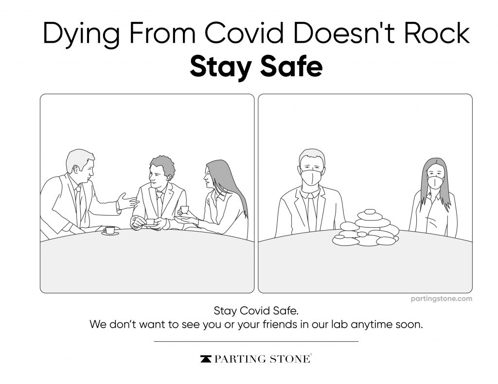 Funny COVID-19 - Parting Stone