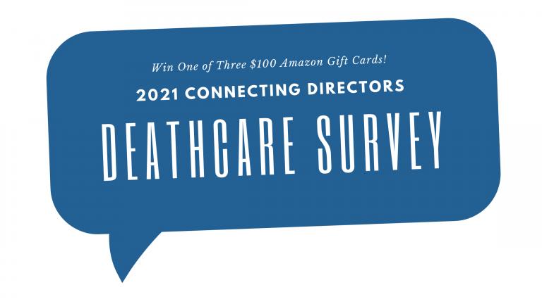 Deathcare survey graphic