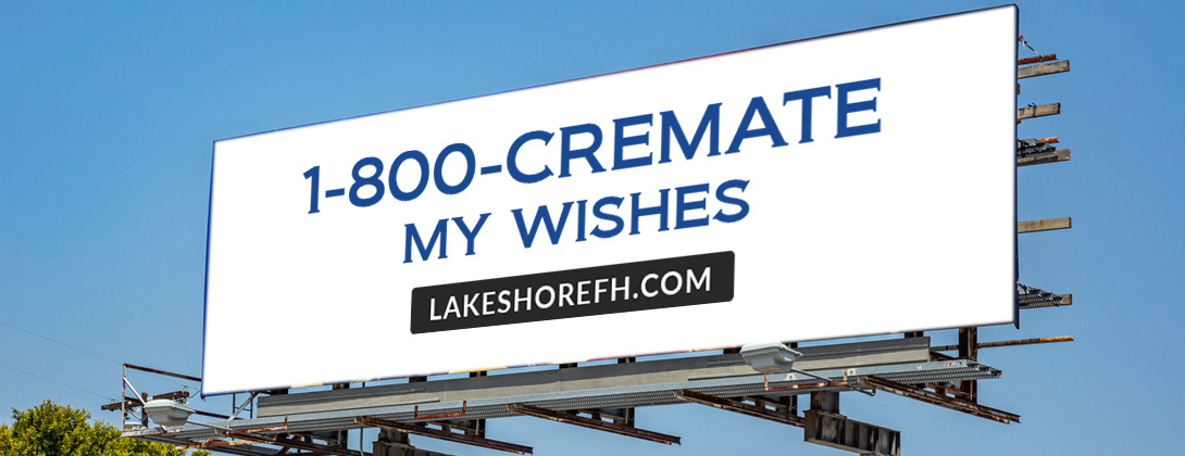 Cremation Network Billboard