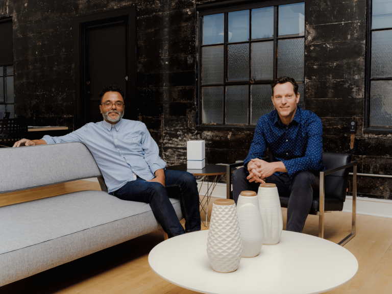 Solace co-founders David and Keith