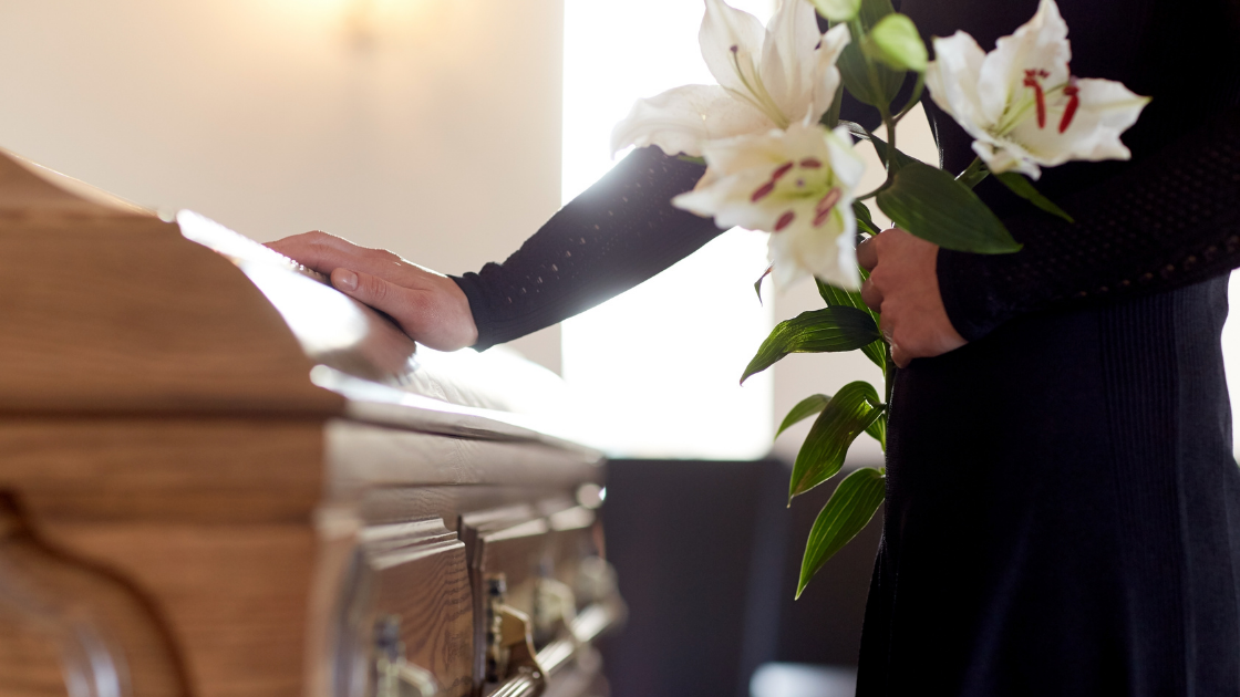 Caring related to funeral spending